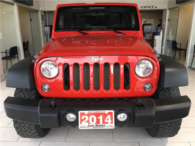 2014 Jeep Wrangler Sport (Stk: 19879) in Chatham - Image 2 of 12