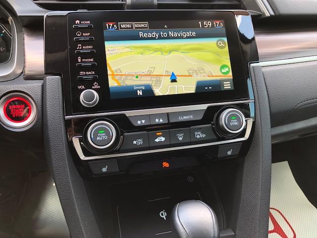 2019 Honda Civic Touring (Stk: K1252) in Georgetown - Image 4 of 12