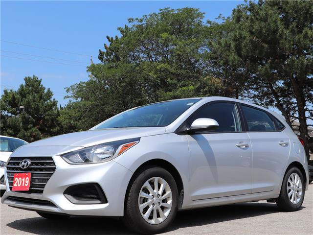 2019 Hyundai Accent Preferred| Gas Saver| Backup Cam| Heat Seat (Stk: 5449) in Stoney Creek - Image 1 of 17