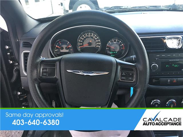 2014 Chrysler 200 LX (Stk: R59972) in Calgary - Image 13 of 18