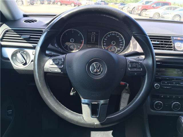 2013 Volkswagen Passat 2.0 TDI Trendline (Stk: 13-36655JB) in Barrie - Image 18 of 23