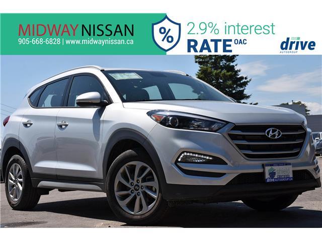 2018 Hyundai Tucson Premium 2.0L (Stk: U1816R) in Whitby - Image 1 of 32