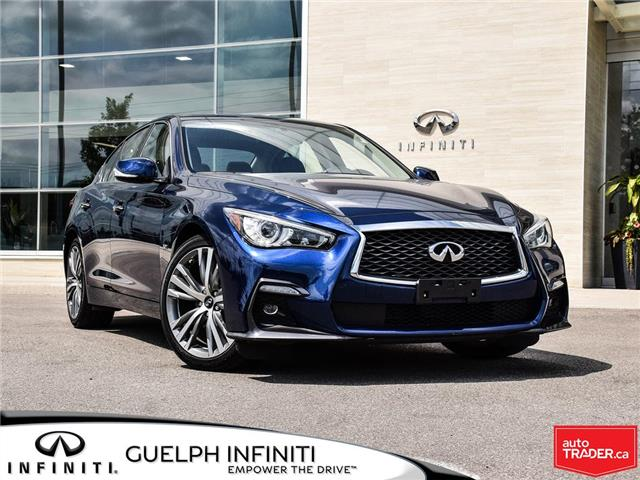 2019 Infiniti Q50 3.0t Signature Edition (Stk: I6810) in Guelph - Image 1 of 26