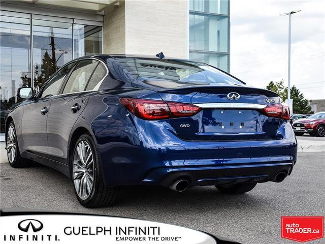 2019 Infiniti Q50 3.0t Signature Edition (Stk: I6810) in Guelph - Image 4 of 26