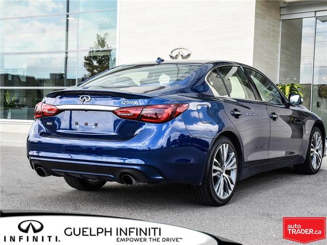 2019 Infiniti Q50 3.0t Signature Edition (Stk: I6810) in Guelph - Image 6 of 26