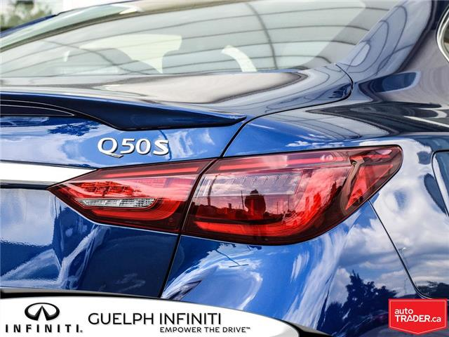 2019 Infiniti Q50 3.0t Signature Edition (Stk: I6810) in Guelph - Image 7 of 26