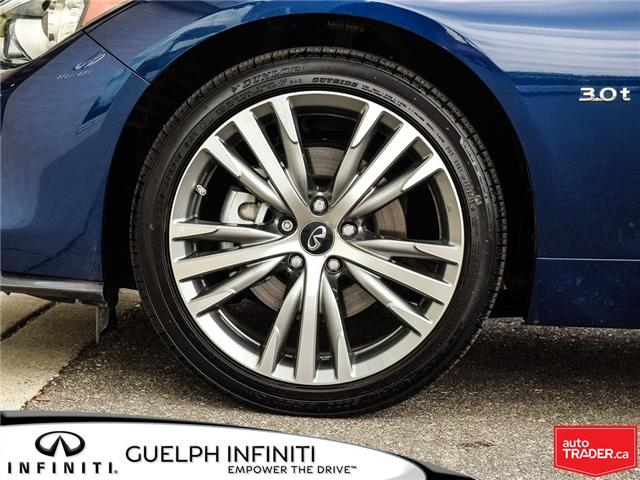 2019 Infiniti Q50 3.0t Signature Edition (Stk: I6810) in Guelph - Image 9 of 26