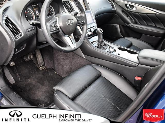 2019 Infiniti Q50 3.0t Signature Edition (Stk: I6810) in Guelph - Image 12 of 26
