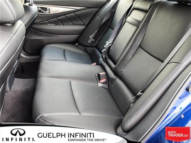 2019 Infiniti Q50 3.0t Signature Edition (Stk: I6810) in Guelph - Image 14 of 26