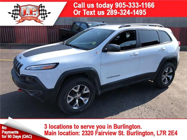 2016 Jeep Cherokee Trailhawk (Stk: 47361) in Burlington - Image 1 of 27