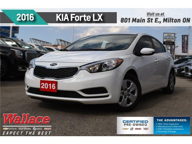 2016 Kia Forte 1.8L LX/SUPER LOW KMS/1-OWNR/CLN HISTRY/WARRANTY (Stk: 201798B) in Milton - Image 1 of 17