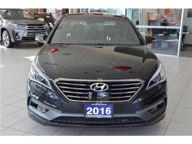 2016 Hyundai Sonata 2.0T Sport Ultimate (Stk: 350524B) in Milton - Image 2 of 40