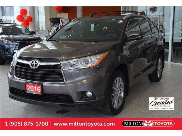 2016 Toyota Highlander  (Stk: 505237A) in Milton - Image 1 of 37