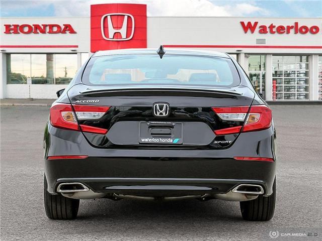 2018 Honda Accord Sport (Stk: H3665) in Waterloo - Image 5 of 27