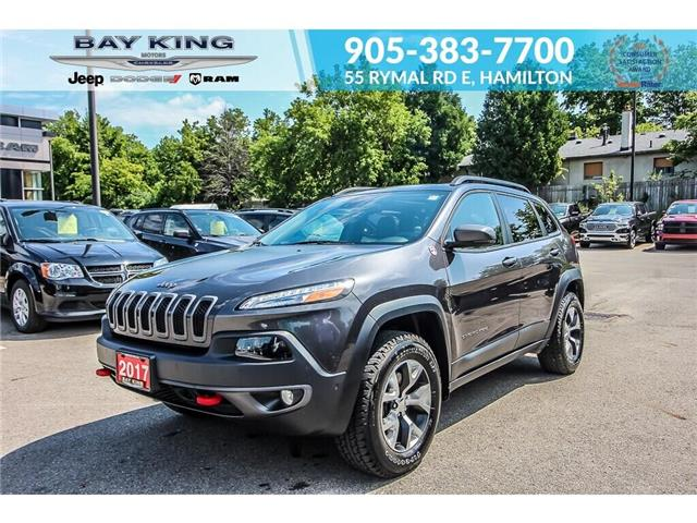 2017 Jeep Cherokee Trailhawk (Stk: 197635A) in Hamilton - Image 1 of 30