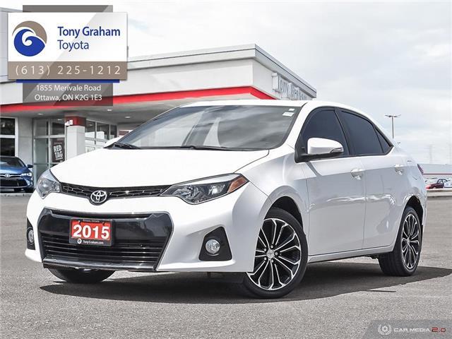 2015 Toyota Corolla S (Stk: E7918) in Ottawa - Image 1 of 30