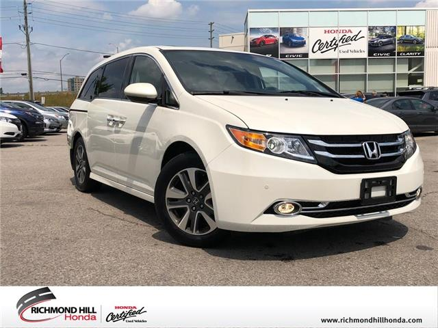 2015 Honda Odyssey Touring (Stk: 2139P) in Richmond Hill - Image 1 of 28