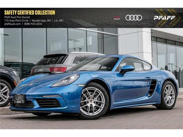 2018 Porsche 718 Cayman Base (Stk: C6868) in Vaughan - Image 1 of 11