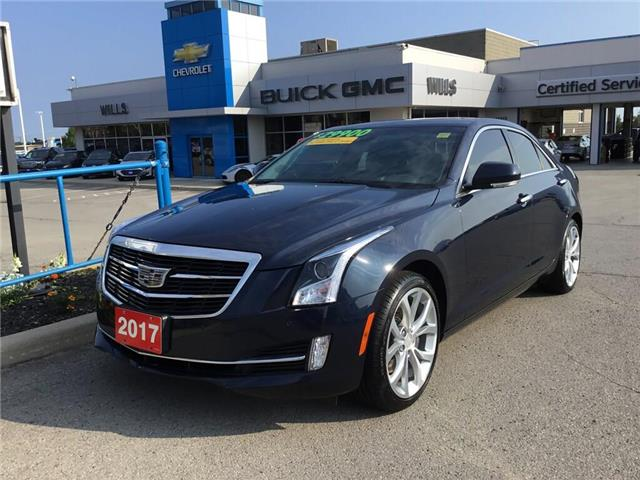 2017 Cadillac ATS 3.6L Premium Luxury (Stk: 174541A) in Grimsby - Image 1 of 16