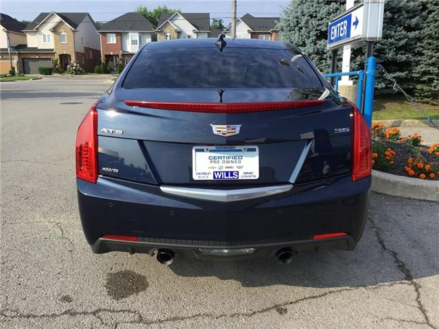 2017 Cadillac ATS 3.6L Premium Luxury (Stk: 174541A) in Grimsby - Image 5 of 16