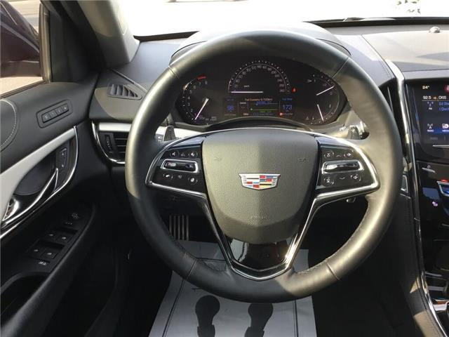 2017 Cadillac ATS 3.6L Premium Luxury (Stk: 174541A) in Grimsby - Image 10 of 16