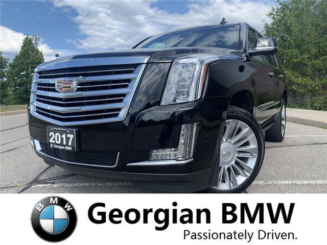 2017 Cadillac Escalade Platinum (Stk: B19230T1) in Barrie - Image 1 of 21
