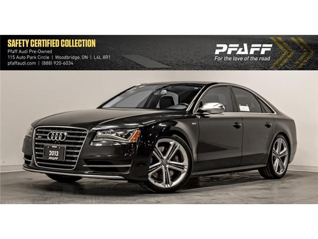2013 Audi S8 4.0T (Stk: T16673A) in Woodbridge - Image 1 of 22
