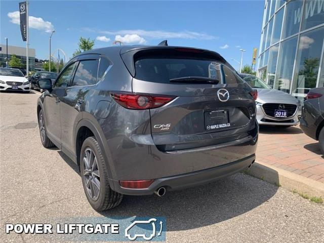 2018 Mazda CX-5 GT (Stk: 19-250A) in Vaughan - Image 5 of 23