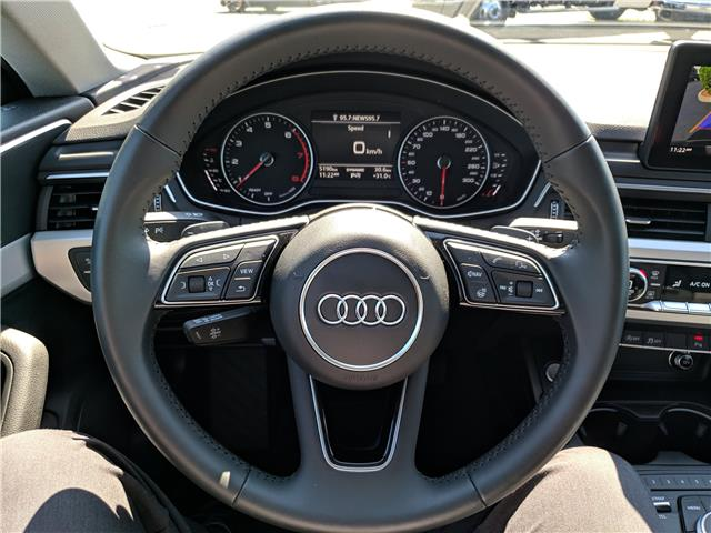 2018 Audi A5 2.0T Komfort (Stk: 10480) in Lower Sackville - Image 14 of 21