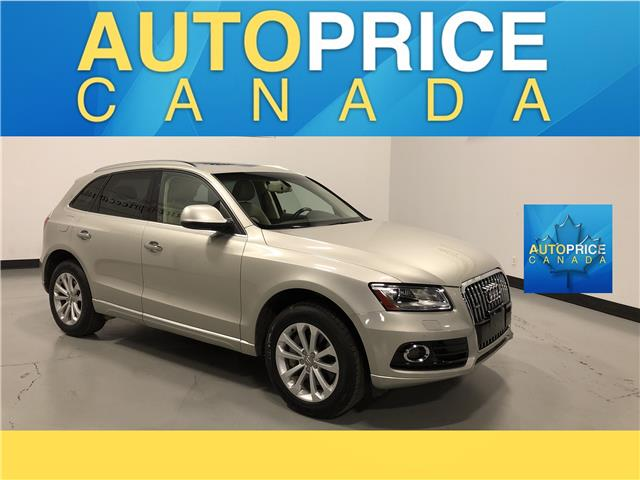2015 Audi Q5 3.0 TDI Technik (Stk: W0536) in Mississauga - Image 1 of 27