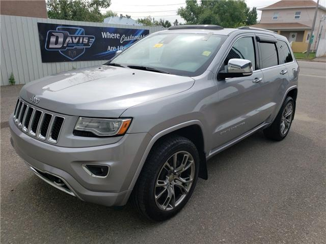 2014 Jeep Grand Cherokee Overland 1C4RJFCG1EC367933 11669 in Fort Macleod