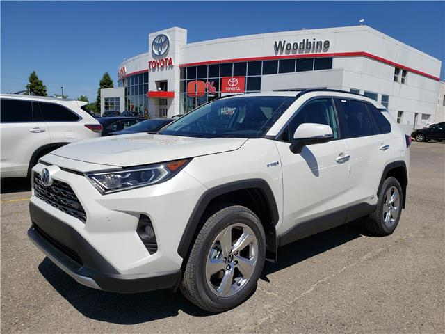 2019 Toyota RAV4 Hybrid Limited (Stk: 9-1169) in Etobicoke - Image 2 of 7