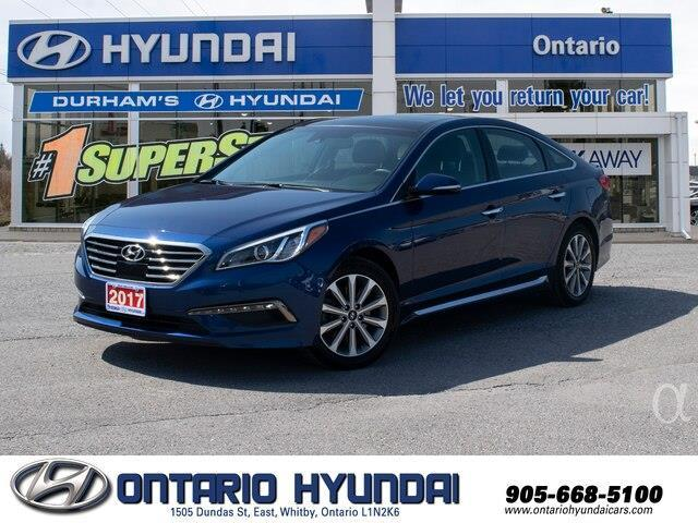 2017 Hyundai Sonata Limited (Stk: 87687K) in Whitby - Image 1 of 21