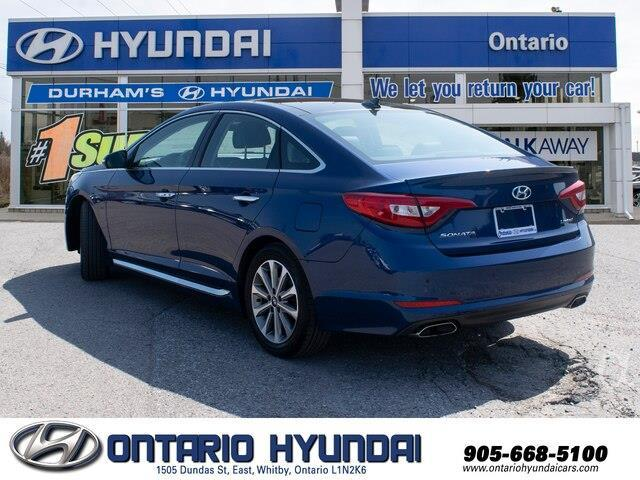 2017 Hyundai Sonata Limited (Stk: 87687K) in Whitby - Image 7 of 21