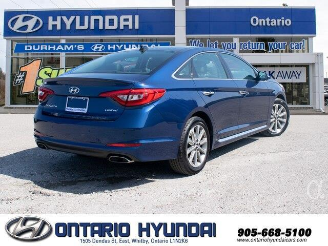 2017 Hyundai Sonata Limited (Stk: 87687K) in Whitby - Image 8 of 21