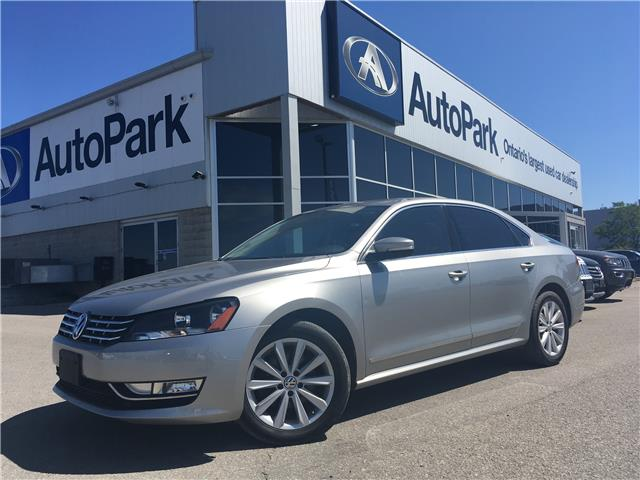 2013 Volkswagen Passat 2.0 TDI Highline (Stk: 13-70055JB) in Barrie - Image 1 of 25