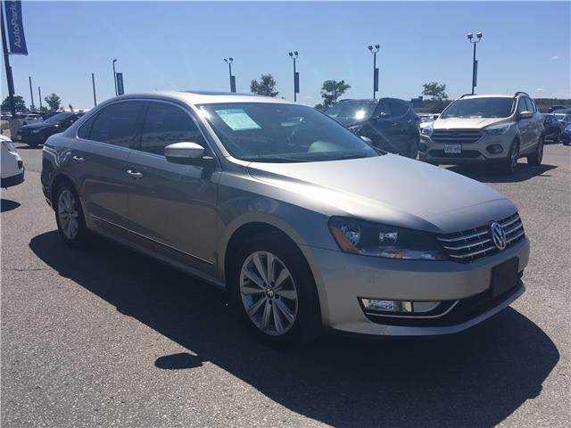 2013 Volkswagen Passat 2.0 TDI Highline (Stk: 13-70055JB) in Barrie - Image 3 of 25