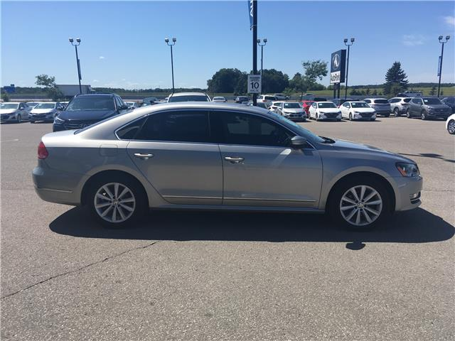 2013 Volkswagen Passat 2.0 TDI Highline (Stk: 13-70055JB) in Barrie - Image 4 of 25