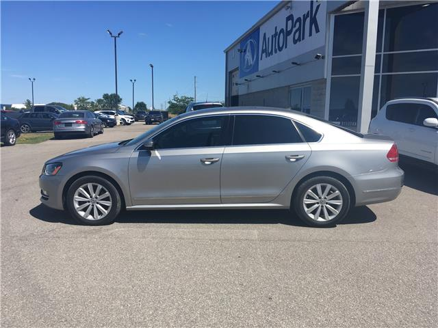 2013 Volkswagen Passat 2.0 TDI Highline (Stk: 13-70055JB) in Barrie - Image 8 of 25