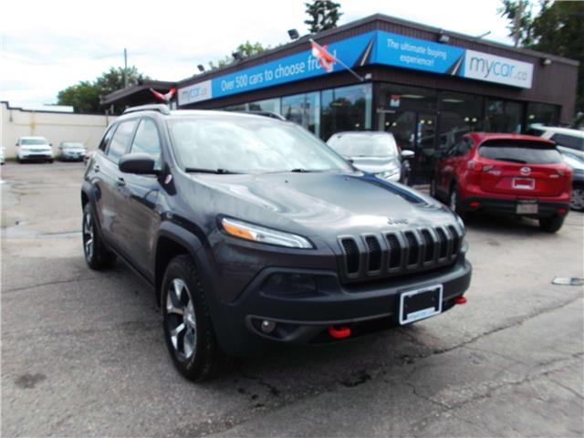 2016 Jeep Cherokee Trailhawk (Stk: 191212) in Richmond - Image 1 of 13