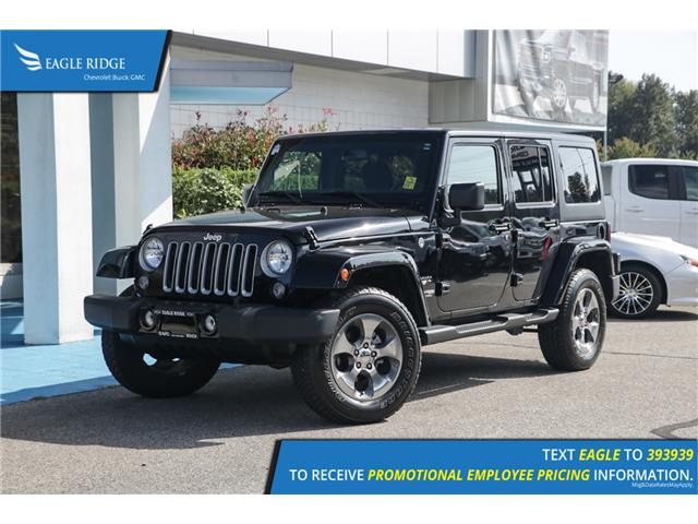 2018 Jeep Wrangler JK Unlimited Sahara (Stk: 189346) in Coquitlam - Image 1 of 15