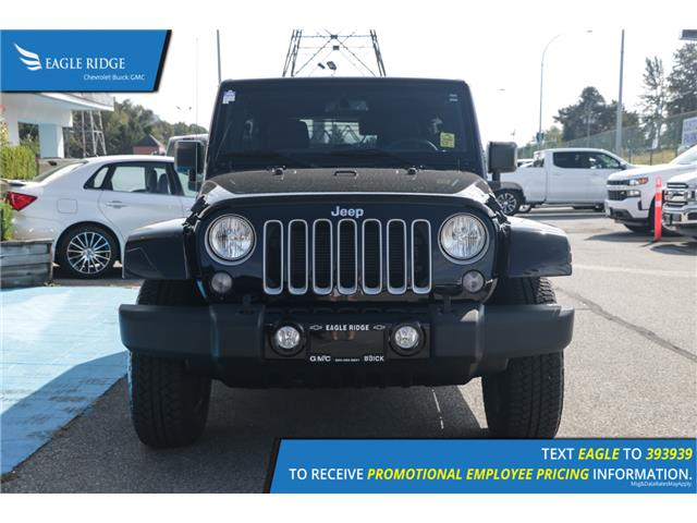 2018 Jeep Wrangler JK Unlimited Sahara (Stk: 189346) in Coquitlam - Image 2 of 15