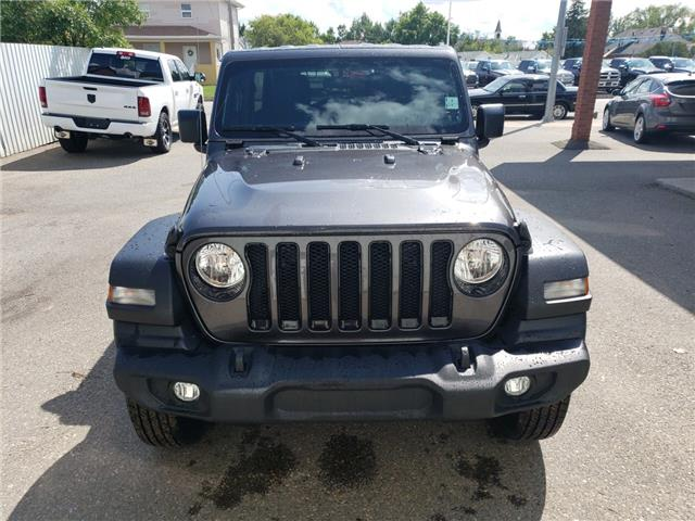 2019 Jeep Wrangler Unlimited Sport (Stk: 15652) in Fort Macleod - Image 2 of 18