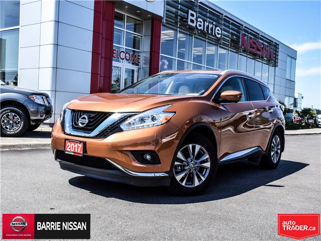 2017 Nissan Murano SL (Stk: P4605) in Barrie - Image 1 of 26