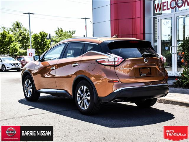 2017 Nissan Murano SL (Stk: P4605) in Barrie - Image 5 of 26