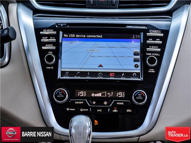 2017 Nissan Murano SL (Stk: P4605) in Barrie - Image 19 of 26