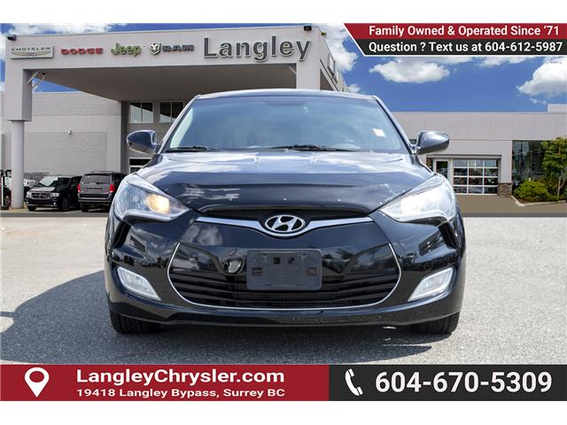 2013 Hyundai Veloster Tech (Stk: EE902340B) in Surrey - Image 2 of 22