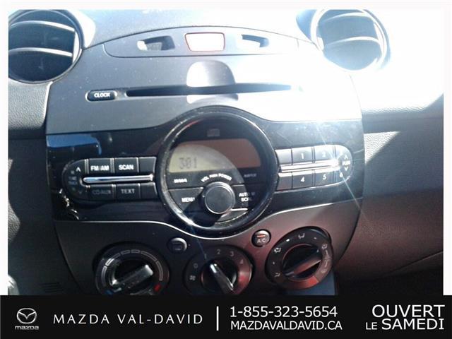 2011 Mazda Mazda2  (Stk: 19426A) in Val-David - Image 15 of 15