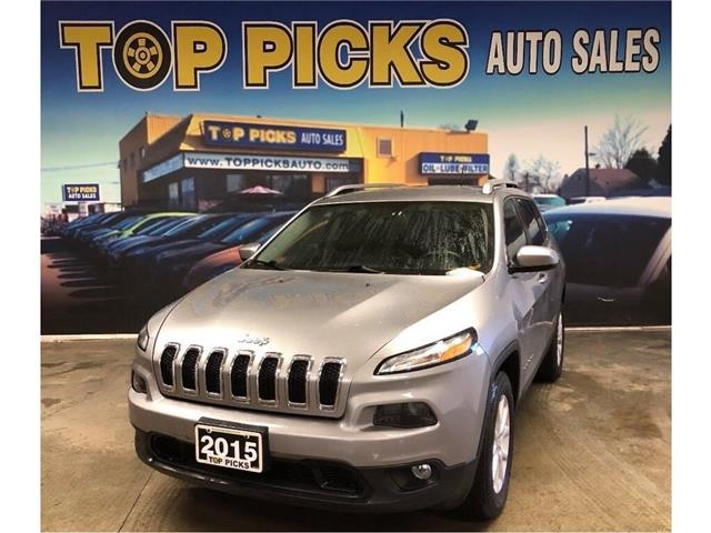 2015 Jeep Cherokee North (Stk: 773649) in NORTH BAY - Image 1 of 27