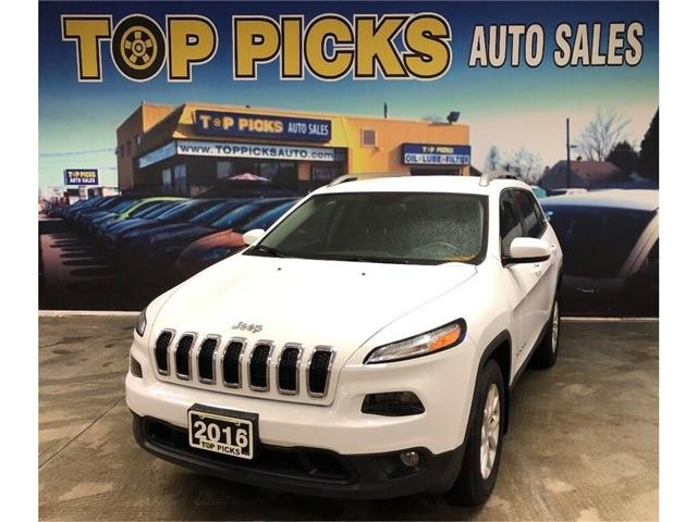 2016 Jeep Cherokee North (Stk: 196301) in NORTH BAY - Image 1 of 28
